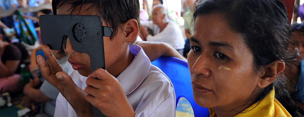 Bringing improved eye care to children